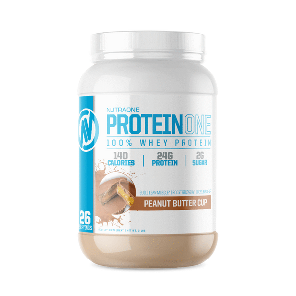 ProteinOne By NutraOne 2LBS (PEANUT BUTTER CUP)