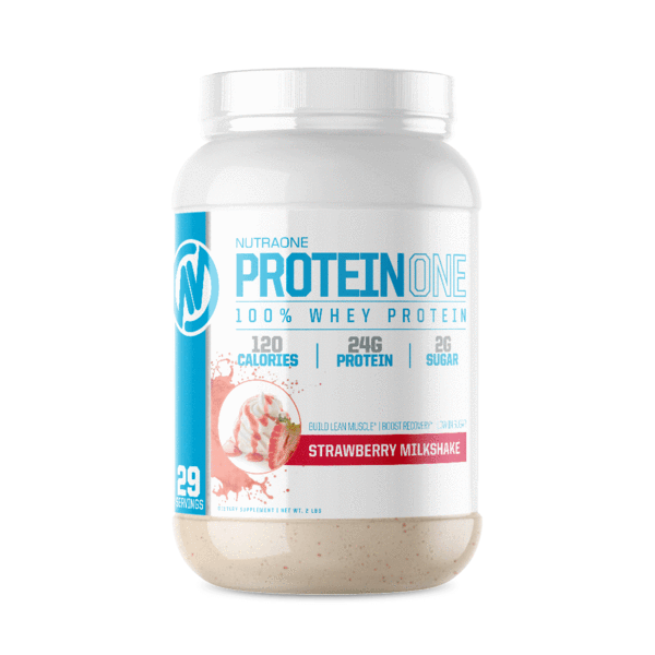 ProteinOne By NutraOne 2LBS (Strawberry Milkshake )