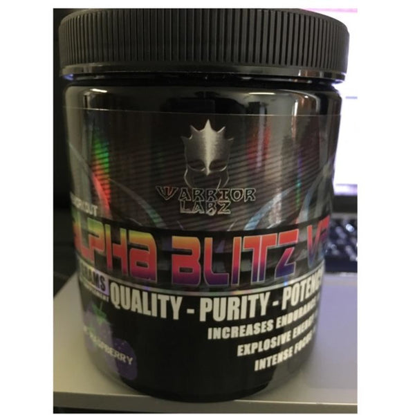 alpha blitz by warrior labz 1