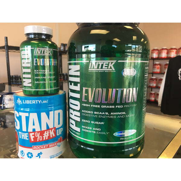 NITRO By Intek - Stand The F%#K Up - Protein by Intek