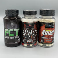 Savage (UG PHARMA) - PCT (WARRIOR LABZ) - ArimiT (UG PHARMA)