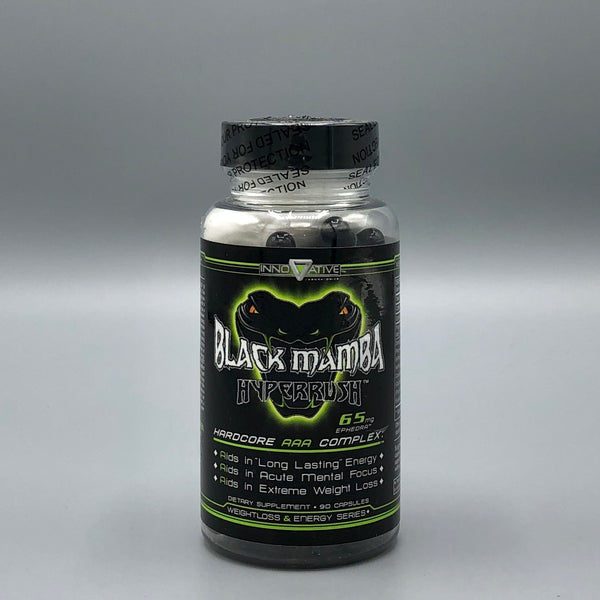 Black Mamba Hyperrush by Innovative | Fat Burner
