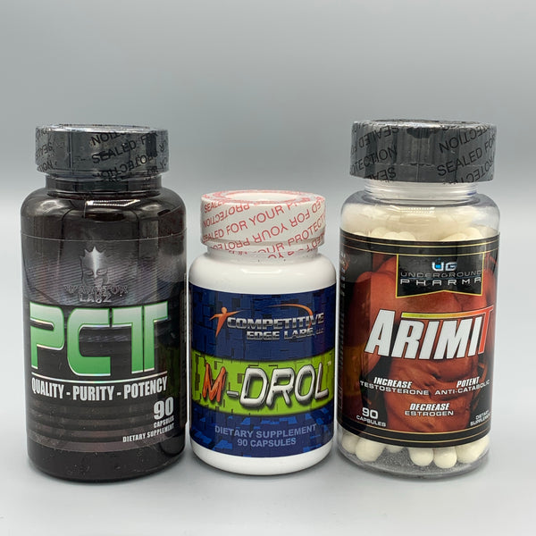M-DROL (COMPETITIVE EDGE) - PCT (WARRIOR LABZ) - ArimiT (UG PHARMA)