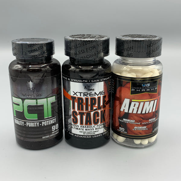XTREME TRIPLE STACK - PCT (WARRIOR LABZ) - ArimiT (UG PHARMA)