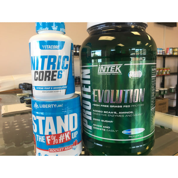 Nitric Core6 - Stand The F%#K Up - Protein by Intek