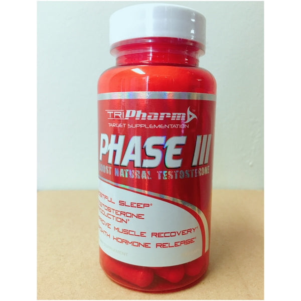 Phase III By Tripharm | Testosterone Booster