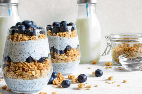 Uplift Food The Best Prebiotic Fiber Supplement  prebiotic breakfast cookie recipe parfait