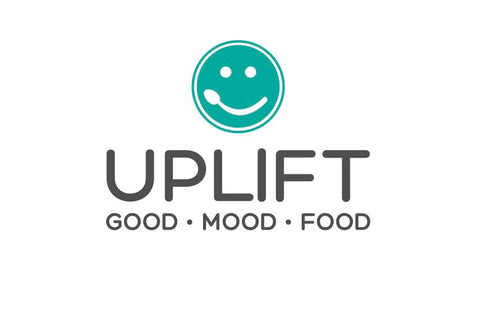 Uplift Food Good Mood Food Logo