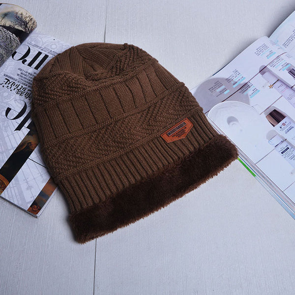 37c77da56b2d0 ... 2017 Fashion Winter Hat Camo Camouflage Men Warm Enough Beanie Hats Male  Baggy Knitted Skullies Bonnet ...