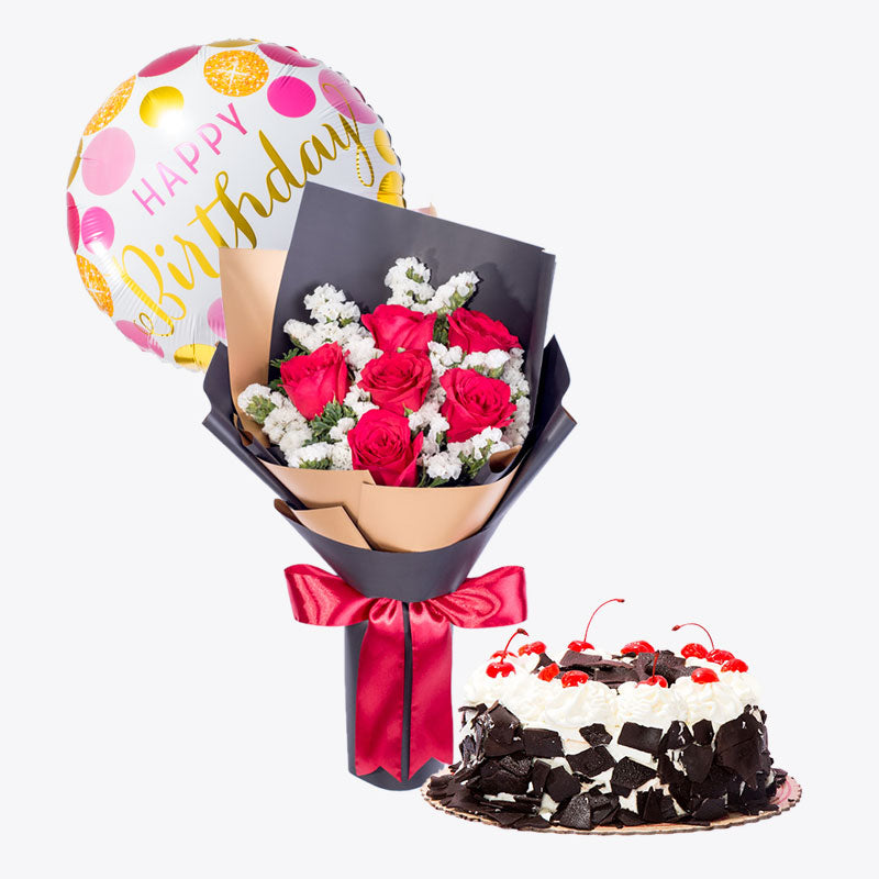 Hot Romance + Black Forest Cake Bundle