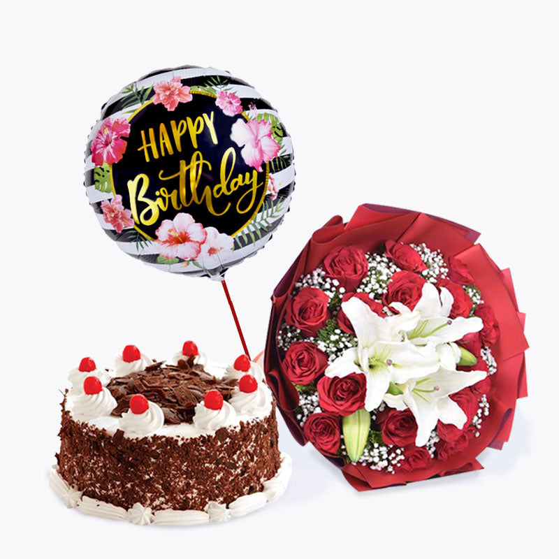 Sweetheart + Black Forrest Cake Bundle