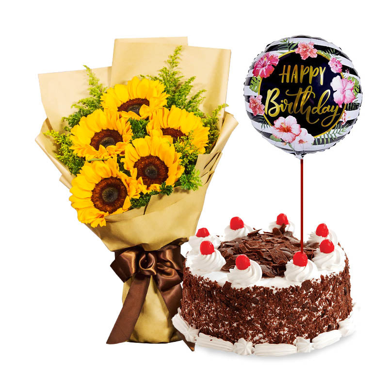 Bloomy Days + Black Forest Cake Bundle