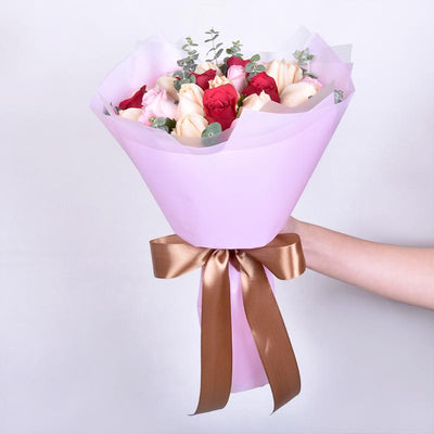 Yasmin - Mixed Rose Bouquet