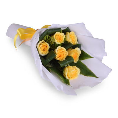 Long Stemmed Yellow Roses