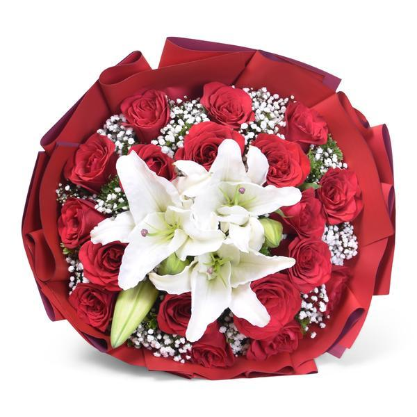Sweetheart Love Bundle Flowers_Bouquet