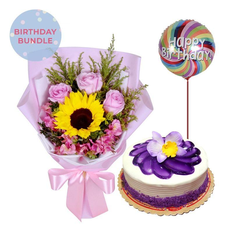 Pink Puff + Ube Cake Bundle