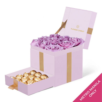 Trinity Box Pink - Purple Touch