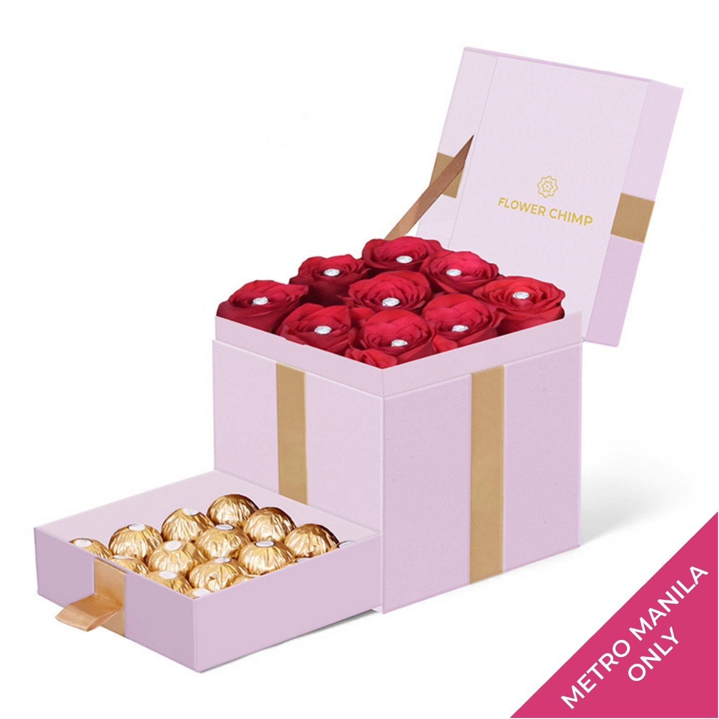 Trinity Box Pink - Scarlet Treasure