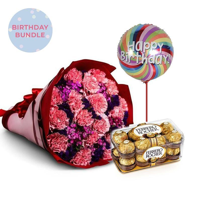 Extravaganza Birthday Bundle Flowers_Bouquet
