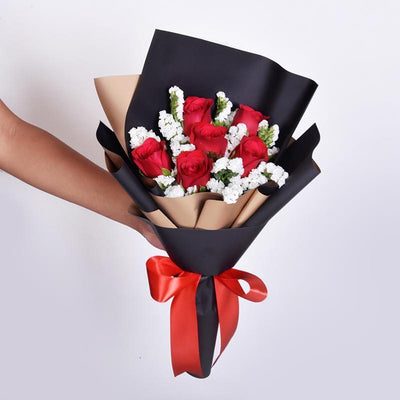 Ultimate Birthday Package (Bouquet+Cake+Balloon)