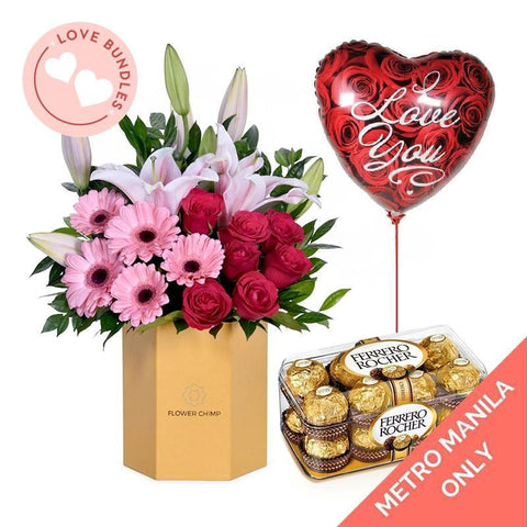 Mon Amour Love Bundle Flowers_Box