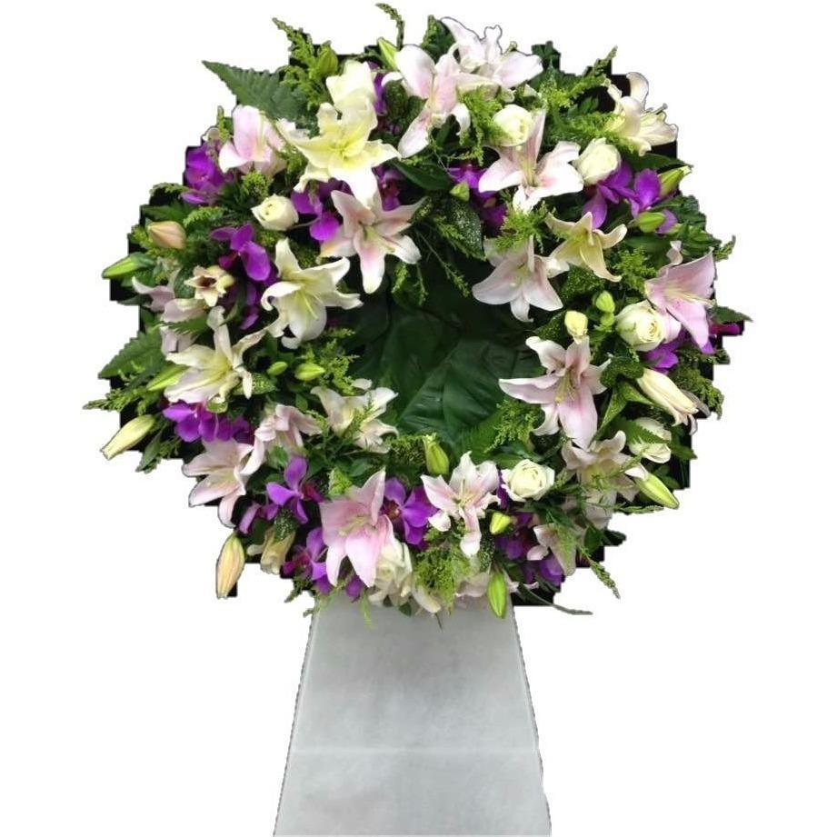 Spirited Grace Funeral Wreath Funeral & Condolence Flowers
