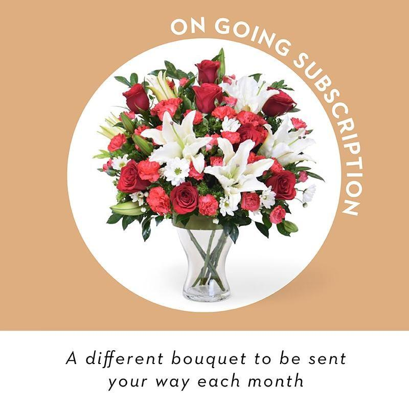 Vase Flowers - Ongoing Subscription