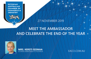 27 NOVEMBER 2019 - Meet The Ambassador And Celebrate The End Of Year