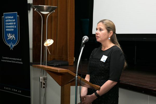 Marianna Jolla, Director and Co-Chair of EACCI