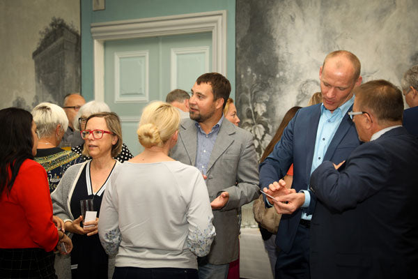 Networking at the Annual Forum on Estonian Australian Trade Relations