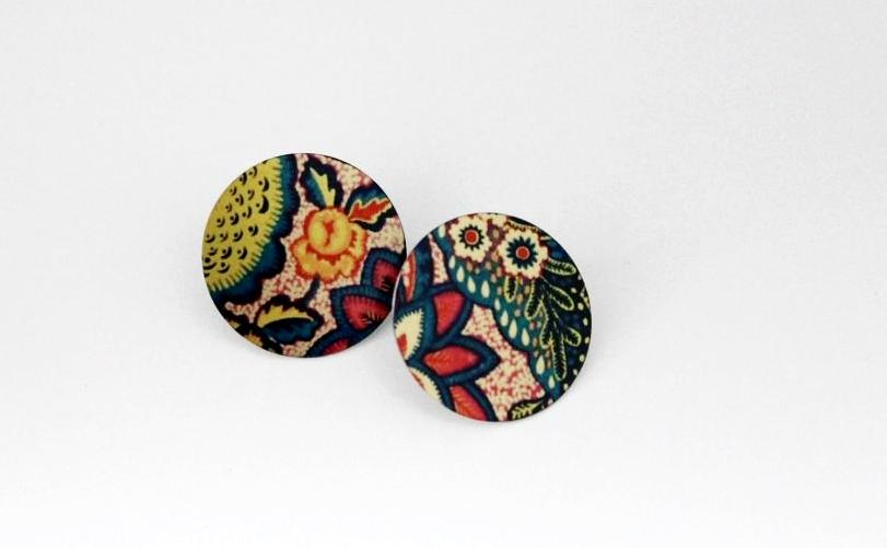 Kaftan 1 Inch Earrings