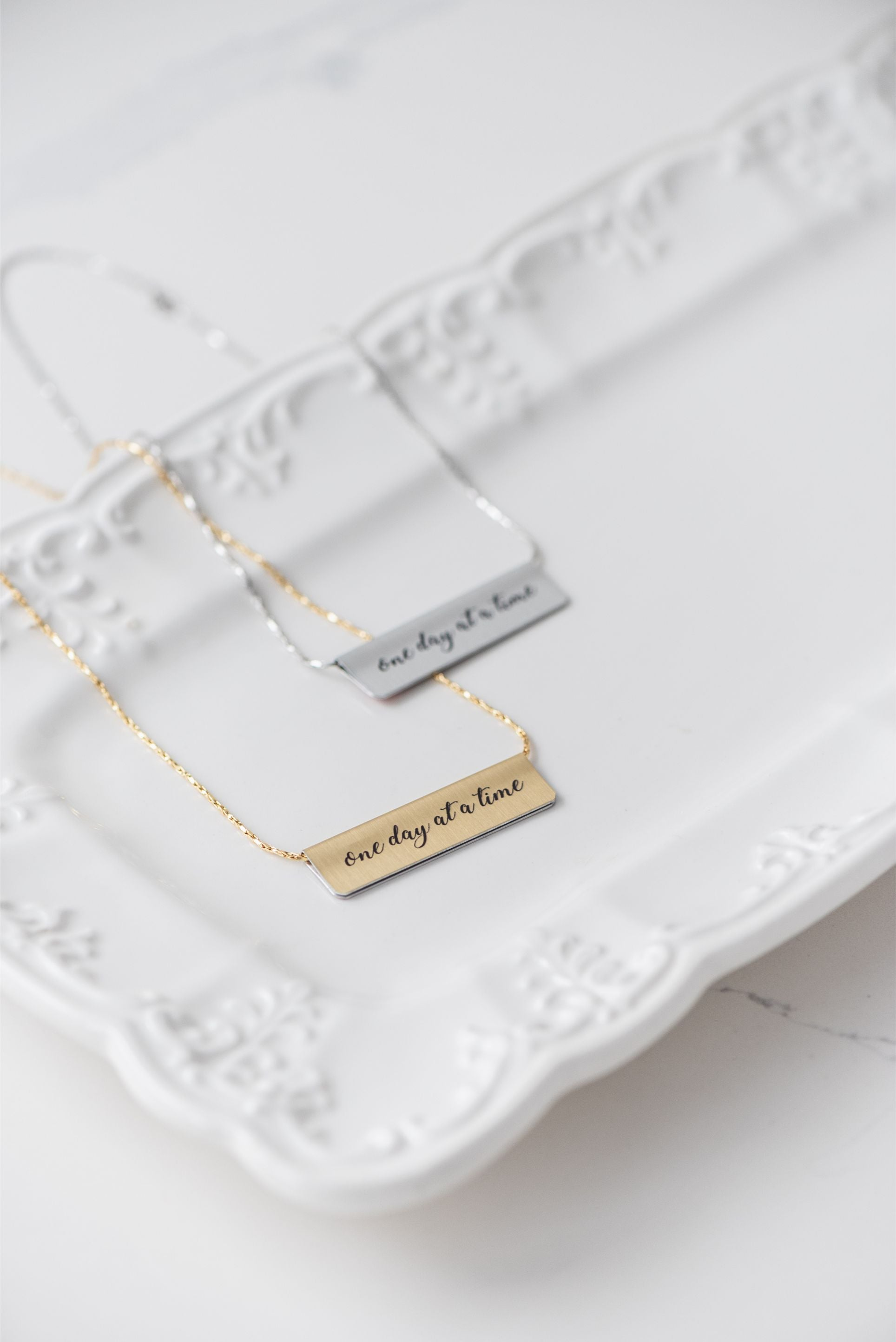 Wonderland Bar Necklace