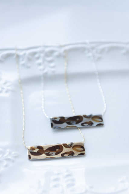 City Jungle Bar Necklace
