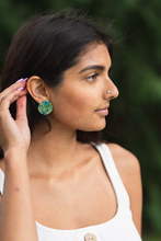 Load image into Gallery viewer, Midsummer Night's Leaves 1 Inch Earrings