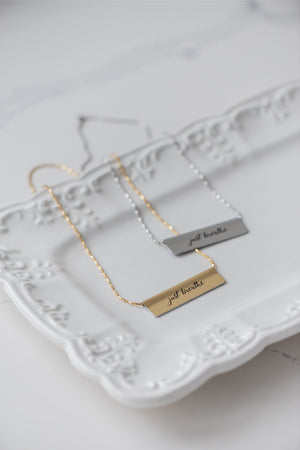 Jameela Bar Necklace