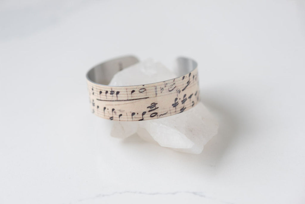 Sheet Music Small Cuff