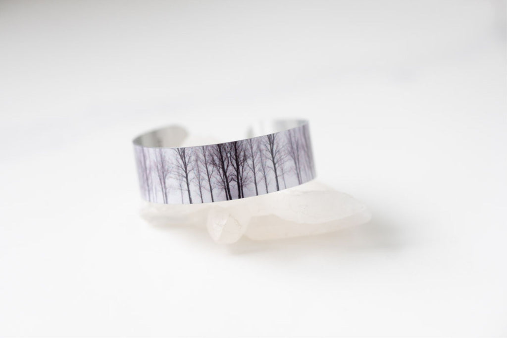 Winter Forest Small Cuff