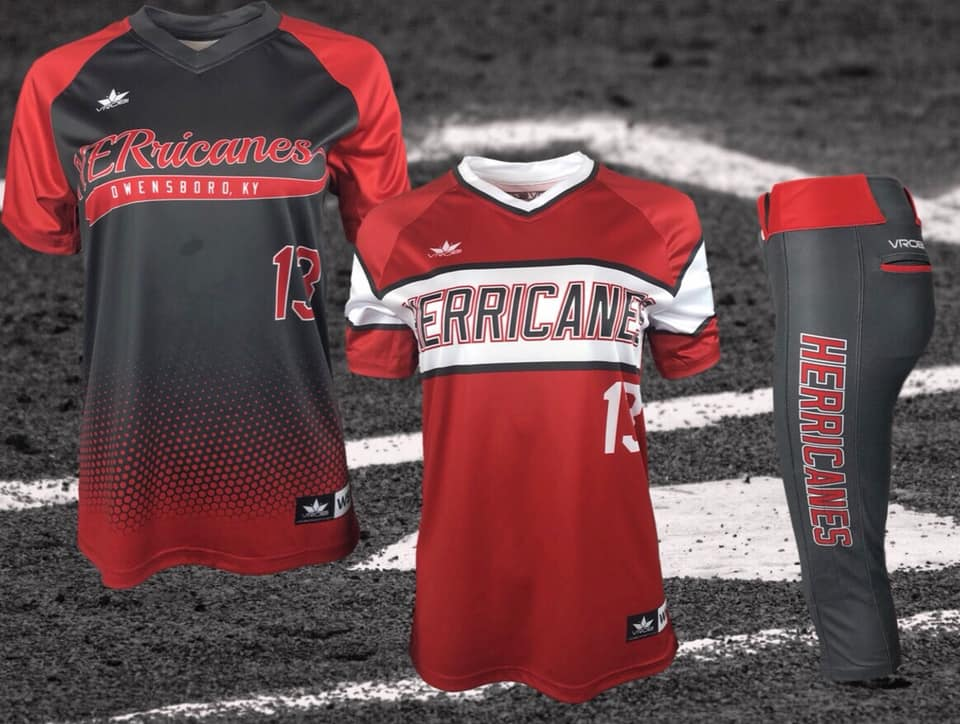 Fastpitch Softball Jersey and Pants showing Throwback look