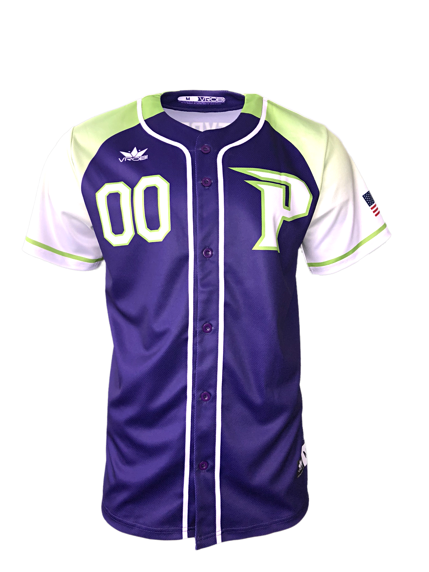 Custom Softball Jersey with Ombre fade