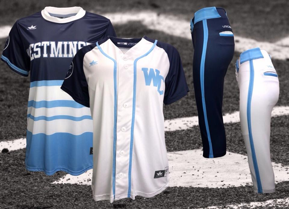 Fastpitch Softball Custom Sublimated Uniforms with Retro look