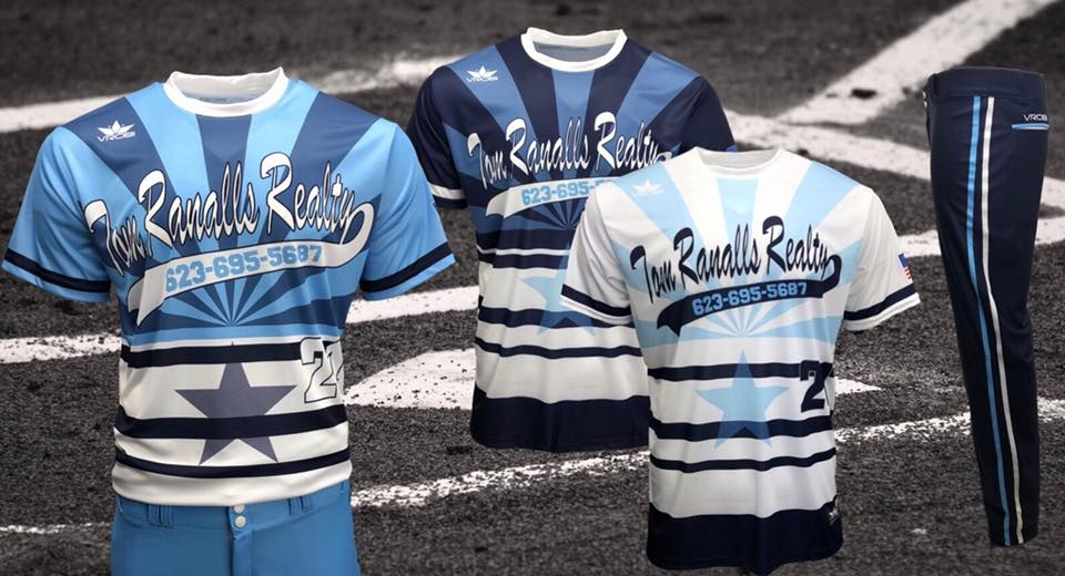 Slowpitch Uniforms with Throwback look