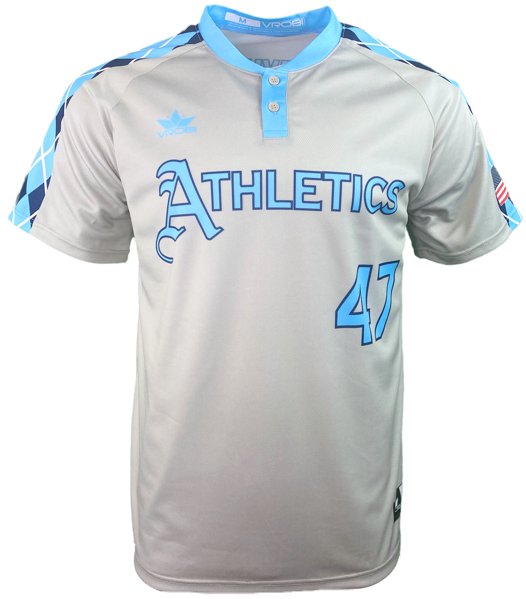 Baseball Custom Full Dye Sublimated Two Button Baseball Jersey with Classic look
