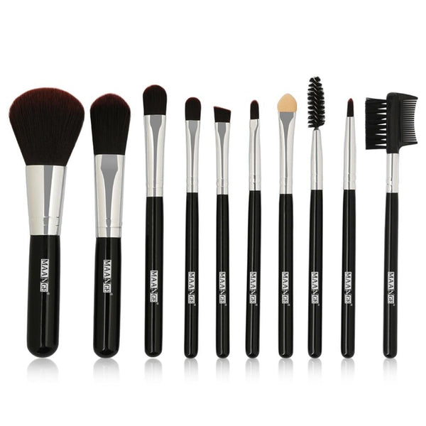 Basic Brush Set (10pcs Set) | teeweebeautyshop.com