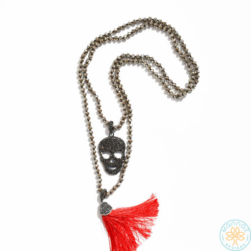 Mannaz Gasparilla Necklace with Tassel