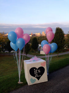 The Best Gender Reveal Balloon-Box: How to make a Gender Reveal Balloon-Box