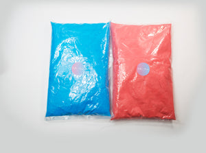 Bulk Gender Reveal Powder Blue 1 KG Pink 1 KG