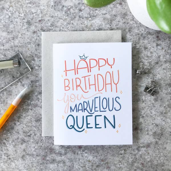 Marvelous (Birthday) - Greeting Card