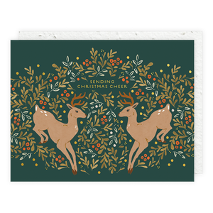 Seedlings - Prancer Seedlings Card