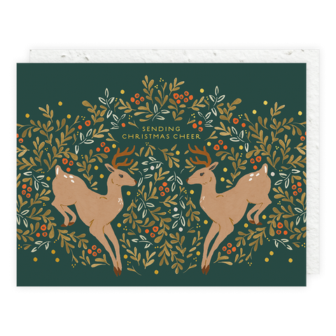 Prancer Seedlings Card