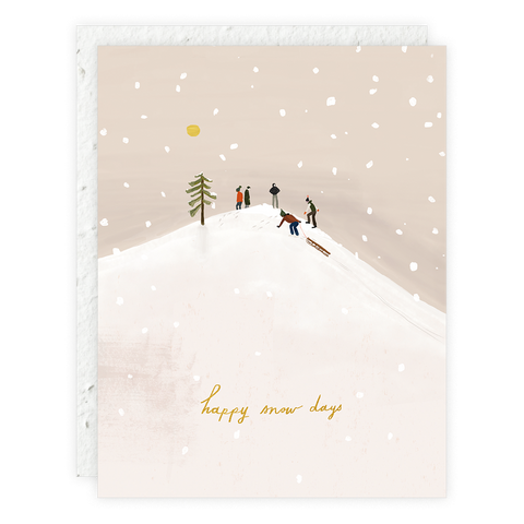Snow Day Card